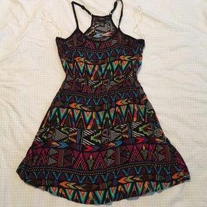 Rue21–Racerback Aztec Dress